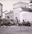 Vilnia, Bazylanskaja, Vostraja Brama. Вільня, Базылянская, Вострая Брама (S. Fleury, 1900).jpg