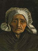 Vincent van Gogh - Head of an Old Peasant Woman with White Cap - F146 JH551.jpg