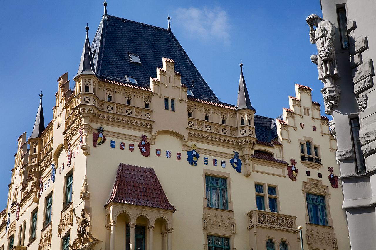 File Vintage Building Details In The Old Town Prague