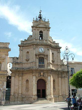 Vittoria, Sicily - Image: Vittoria La Chiesa e il Convento delle Grazie