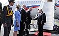 Vladimir Putin arrives in Helsinki, 16 July 2018 (2).jpg