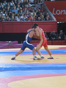 Vlasov vs. Julfalakyan London 2012 Greco-Roman Wrestling final.jpg