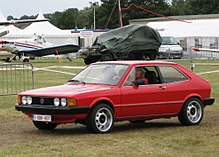 Scirocco I Side View Wrap Around Front Indicators And The Plastic Coated One Piece Bumpers Mark This Out As A Post 1978 Car
