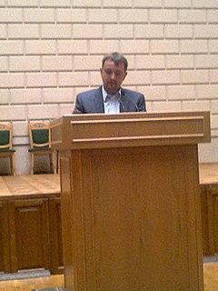 Volodymyr Viatrovych Ukrainian politician