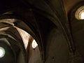 Voltes de la capella de Sant Martí, cartoixa de Valldecrist.JPG
