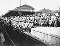 Voluntários paulistas na Estação de Aparecida em 1932.jpg