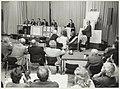 Voorlichtingsbijeenkomst in de koepelgevangenis. NL-HlmNHA 54020939.JPG