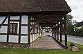 Vorgiebel Laubenhaus, Durchsicht Vorlaube von West b.jpg
