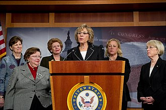 Barbara Boxer - Senator Boxer joined with Senate Democratic women at a press conference to speak about women's health.