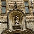 WLANL - hansfokke - Het Markiezenhof, Beeld van St. Christoffel (Gebouwd ter meerdere eer en glorie van de heren, later, de Markiezen van Bergen op Zoom, 1458).jpg