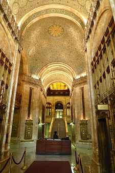 Woolworth building wikipedia for New york life building interior