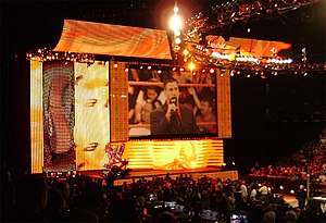 WWE Heat - The Heat version of the universal WWE entrance set introduced in January 2008 for WWE's high-def broadcasting.