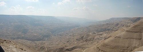 Wadi al'Mujib, Jordan