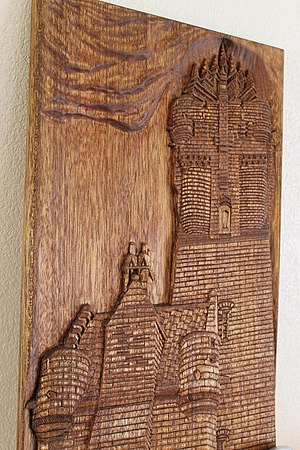 Wallace Monument - Walace Monument art