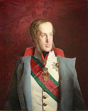Archduke Franz Karl of Austria - Franz Karl at age 37, 1839