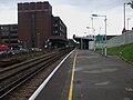Wallington station look east.JPG