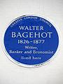 Walter Bagehot 1826-1877 writer banker and economist lived here.jpg