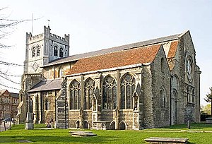 Waltham Abbey (parish) - Image: Waltham Abbey Church