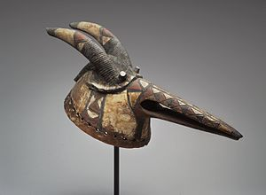 Art of Burkina Faso - Mossi Mask, late 19th or early 20th century. Brooklyn Museum