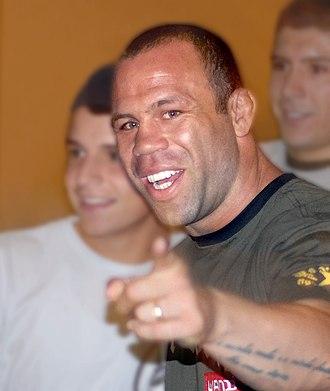 Wanderlei Silva - Wanderlei Silva in 2007.