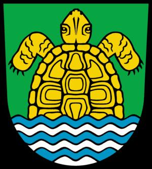 Grünheide (Mark) - Image: Wappen Gruenheide (Mark)
