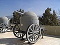 War Museum Athens - Krupp Schuman mobile carriage gun - 6754.jpg