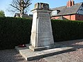 War memorial, Brooks Lane, Middlewich - geograph.org.uk - 1266636.jpg