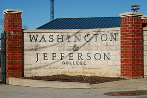 Washington & Jefferson Presidents - Cameron Stadium, home of the football team since 1890