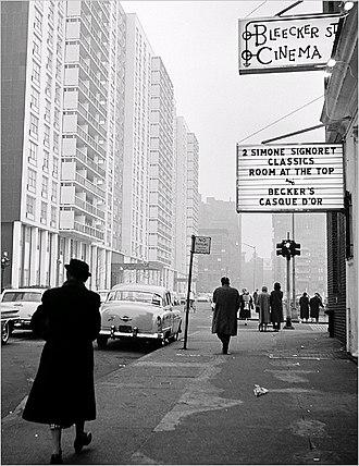 Bleecker Street Cinema - Bleecker Street Cinema, looking east