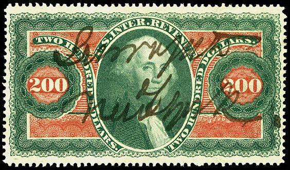 revenu stamp