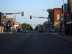 Downtown Detroit Lakes on Washington Avenue