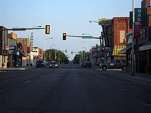 Detroit Lakes, Minnesota - Downtown Detroit Lakes along Washington Avenue