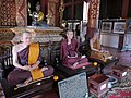 Wat Phra Sing - Ubosot - Wax statues south - P1140273.jpg