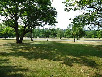 Mountainside, New Jersey - Playfields in Watchung Reservation in Mountainside.