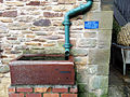 Water butt, Town stables, Beamish Museum, 25 January 2014.jpg