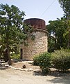 Water tower used by Jezreel Valley railway, Afula.JPG