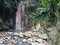 Waterfall in St. Lucia Botanical Gardens.JPG