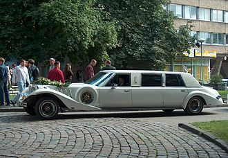 Zimmer (automobile) - A wedding limousine Zimmer in Tallinn, Estonia
