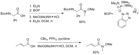 Weinreb Ketone Synthesis Wikipedia