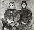 Werenskiold Bernt and Minka Grønvold 1898.JPG