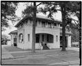 West And South Facades - Laurel Street Station, 1801 Laurel Street, Baton Rouge, East Baton Rouge Parish, LA HABS LA,17-BATRO,2-4.tif