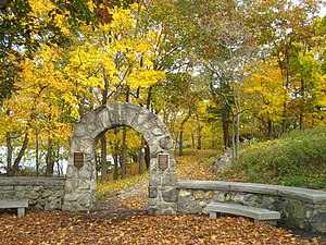 Flirtation Walk (West Point) - Image: West Point Flirtation Walk IMG 1543