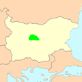 West Stara Planina Sheep area of distribution.PNG