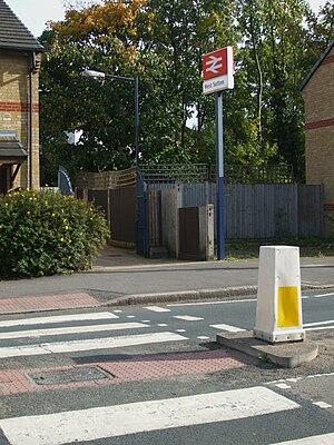 West Sutton railway station - Image: West Sutton stn entrance