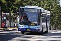 Westbus (mo 6052) Volgren 'CR228L' bodied Volvo B7RLE in Transport NSW livery on Olympic Boulevard at Sydney Olympic Park (1).jpg