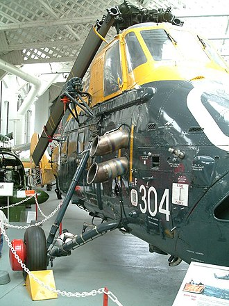 Westland Wessex - A Wessex HAS.1 at the Imperial War Museum at Duxford (UK)