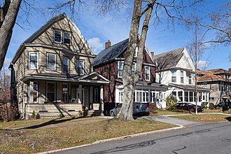Westmont, Pennsylvania - Tioga Street homes, built in 1901