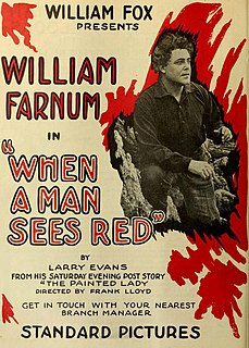 <i>When a Man Sees Red</i>