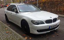BMW 7 Series E65  Wikipedia