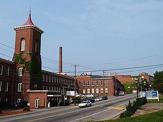 Whitinsville, Massachusetts Census-designated place in Massachusetts, United States